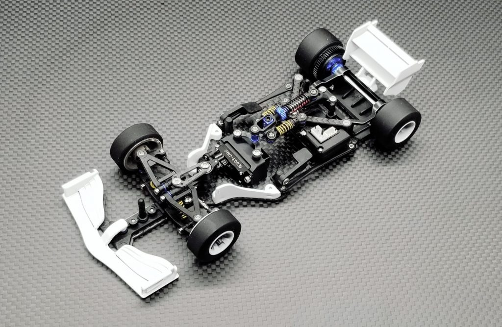 Le système triple suspension de la GLF-1