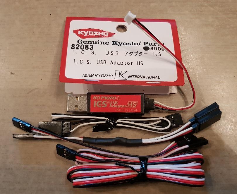 ICS Kyosho KYO 82083RC Cable-ICS-Manager-Kyosho-Miniz